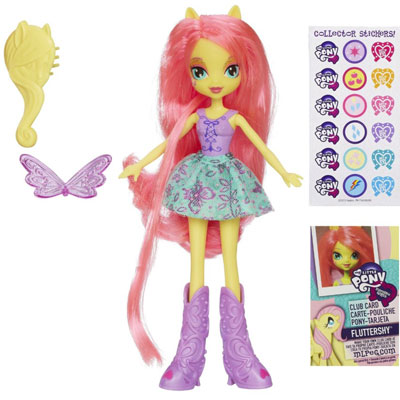 Кукла пони Флаттершай Fluttershy My Little Pony Equestria Girls