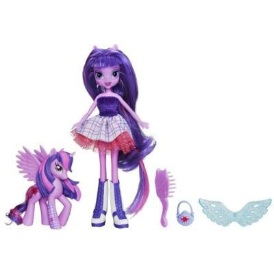 Кукла с пони Твайлайт Спаркл Twilight Sparkle My Little Pony Equestria Girls