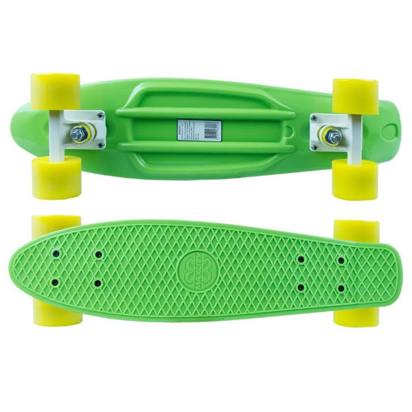 Скейтборд MC Plastic Board X1 small green