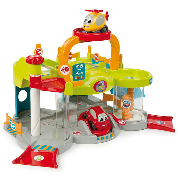 Парковка детская с лифтом игрушка