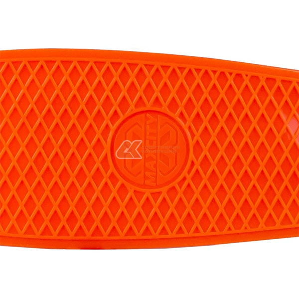 Скейтборд MC Plastic Board X1 small orange