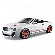 Модель автомобиля Bentley Continental Supersport Convertible 1:18